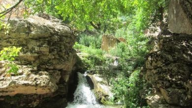 دره اجنه در روستای اخلمد