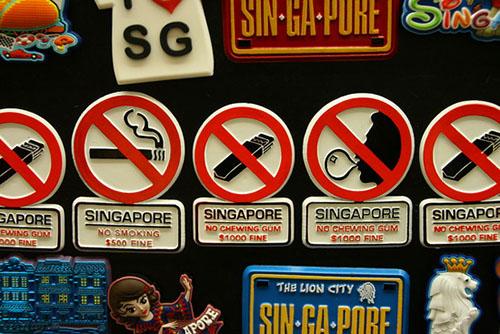 جریمه های عجیب در سنگاپور