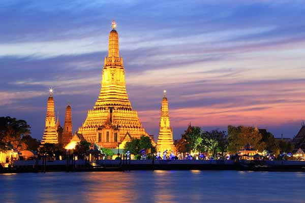 معبد وات آرون بانکوک
