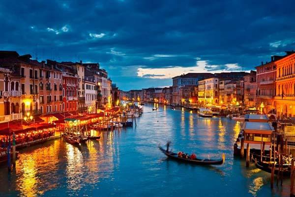 کانال بزرگ ونیز ایتالیا