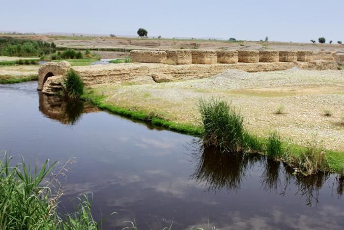 پل بند سياه منصور (ساسانی) دزفول