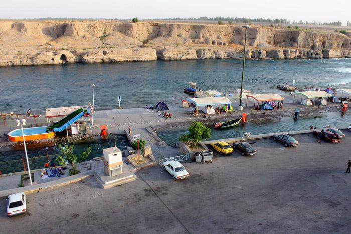 تفریحگاه ساحلی دز (علی کله) دزفول