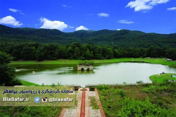 دریاچه عباس اباد مازندران